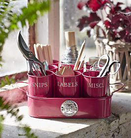 Sophie Conran Gubbins Tin in Raspberry