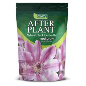 After Plant plant food with rootgrow